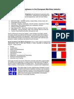 Careers for Engineers EU Maritime Industry