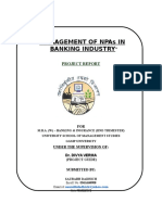Management of NPA in Banking.doc