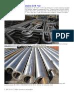 En 10216-2 16Mo3 Seamless Steel Pipe