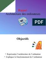 Architecture Des Ordinateurs