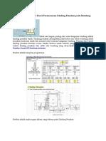 Download Spreadsheet Excel Perencanaan Dinding Penahan Pada Bendung