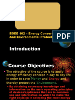 Energy Conservation and Environmental Protection