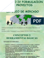 Tercera Clase Estudio Mercado EUPG-UNFV 2015