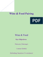 Wine &Food Pairing