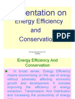 Energy Conservation ISI