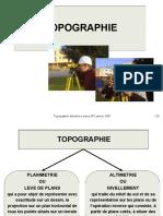 Topographie Altimetrie Cours Version 001 2007