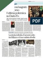 Il premio nobel Dario Fo è morto