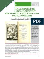 A.3 Clinical Models Classification 072012
