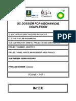 MC & Dossier Index