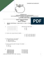 Soal Calistung Tahap 1 Kelas 1