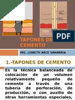 Tapones de Cemento Ing. Lisbeth Arce - Copia