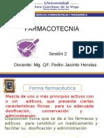 Sesion 2 Farmacotecnia