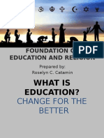 Foundation of Education Religion