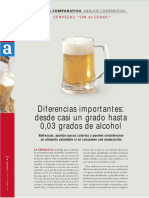 Analisis Comparativo Cervezas Sin Alcohol