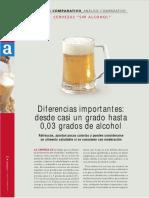 Analisis Comparativo Cervezas Sin Alcohol
