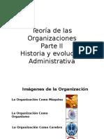 Teoría de Las Organizaciones II.ppt