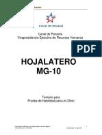 Hojalatero Mg 10