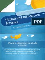 Silicate and Non-silicates