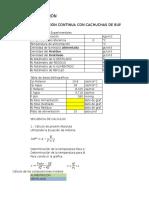1.-Secuencia de Cálculos de Rectificación Continua