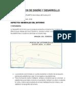 Criterios de Diseño y Desarrollo Aeropuerto