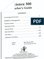 Alpha Omega 5th Grade Science Teacher Guide