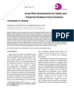 An Analysis of Formal Risk Assessments for Safety And