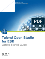 TalendOpenStudio ESB GettingStarted 6.2.1 En