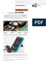 Tutorial - Uso Del Multimetro o Tester - Propio - Taringa!