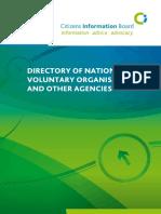 Directory of Volunteers2008