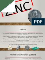 Zinc (Producción de aleaciones).pptx