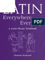 55 Latin Everywhere, Everyday a Latin Phrase Workbook
