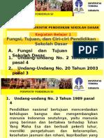 Modul 2 Karakteristik Pendidikan Sekolah Dasar