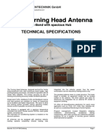 7.3 M Turning Head Antenna