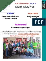 HJMD Recruitment Poster October 15, 2016