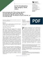Otolaryngology complicacion