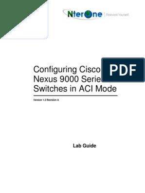 Dcac9k Lab Guide 20160501 | Remote Desktop Services