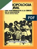 Núñez - Antropología Cultural. Una Aproximación a La Ciencia de La Educación