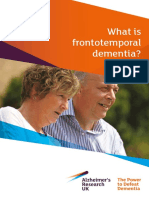 What is Frontotemporal Dementia Jan16 WEB