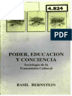 Basil Bernstein-PODER EDUCACION Y CONCIENCIA-Sociologia de la Transmicion cultural.pdf