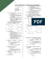 Examen de Suficiencia Académica 2015