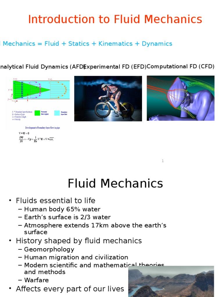Module 1 - Introduction to Fluid Mechanics | Buoyancy | Fluid Dynamics