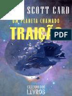 Um Planeta Chamado Traicao - Orson Scott Card