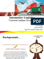 Indian Scenario Logistics