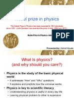 Noble Prize in Physics- Ashraf Gouda
