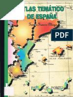 Atlas Temático de España - Tomás Franco Aliaga [Buena Calidad]