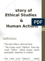01_History of Ethical Studies Human Actions
