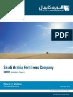 Saudi Arabia Fertilizers Company