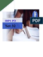 IBPS PO Model Paper 32