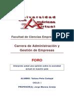 TRABAJO DE FORO - SOCIOLOGÍA.docx