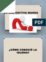 La Diapositiva Manda